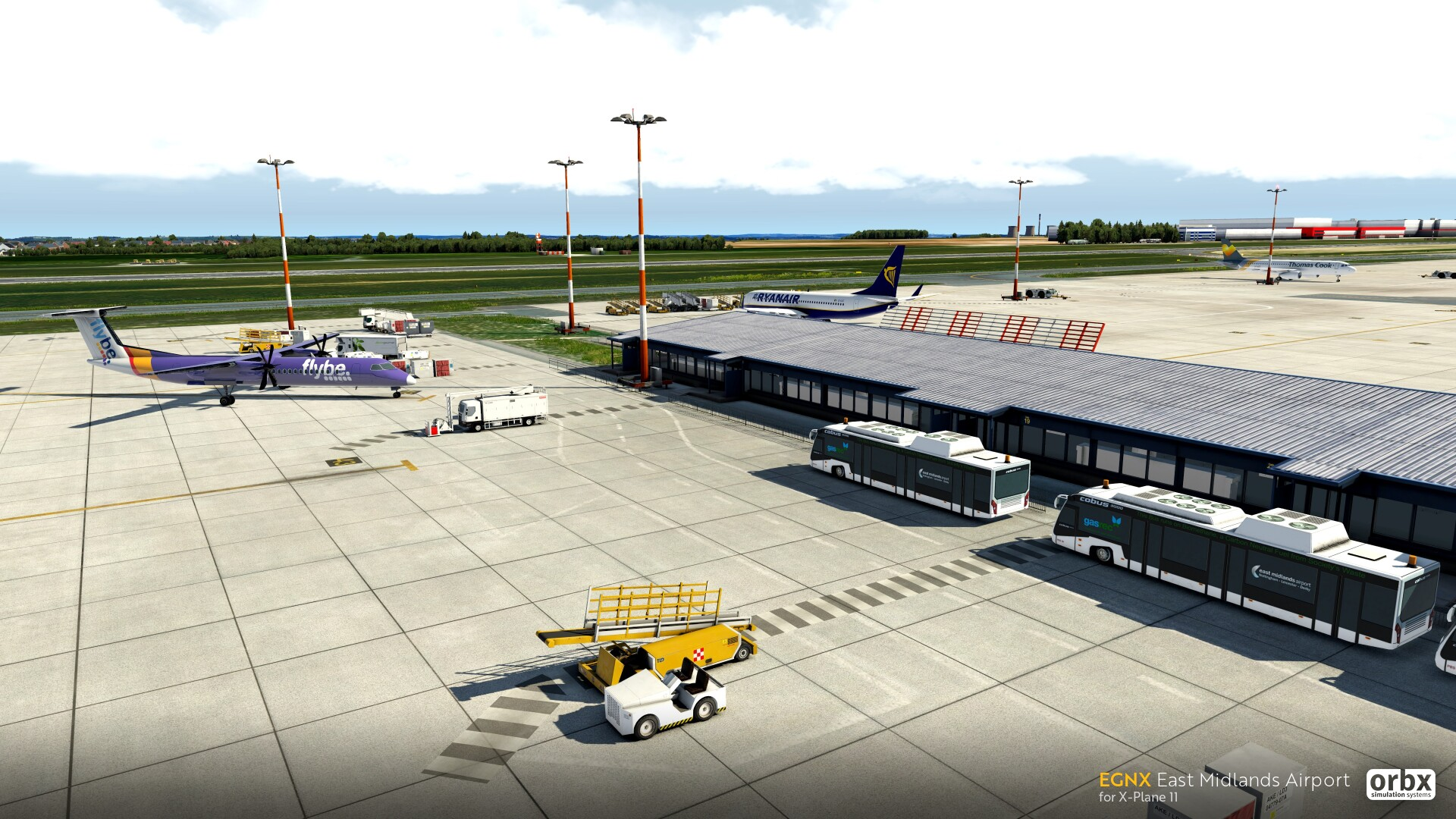 EGNX East Midlands Airport coming soon for X-Plane 11
