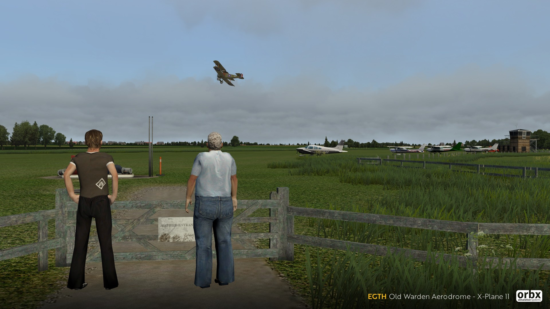 EGTH Old Warden XP11 from me  - Preview Screenshots and