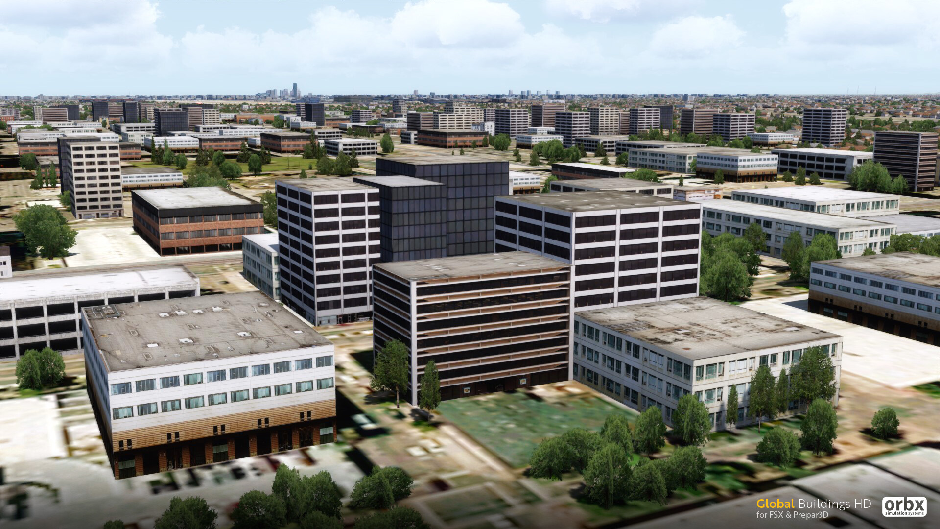 Buildings HD for FSX/P3D coming soon! - Preview Screenshots