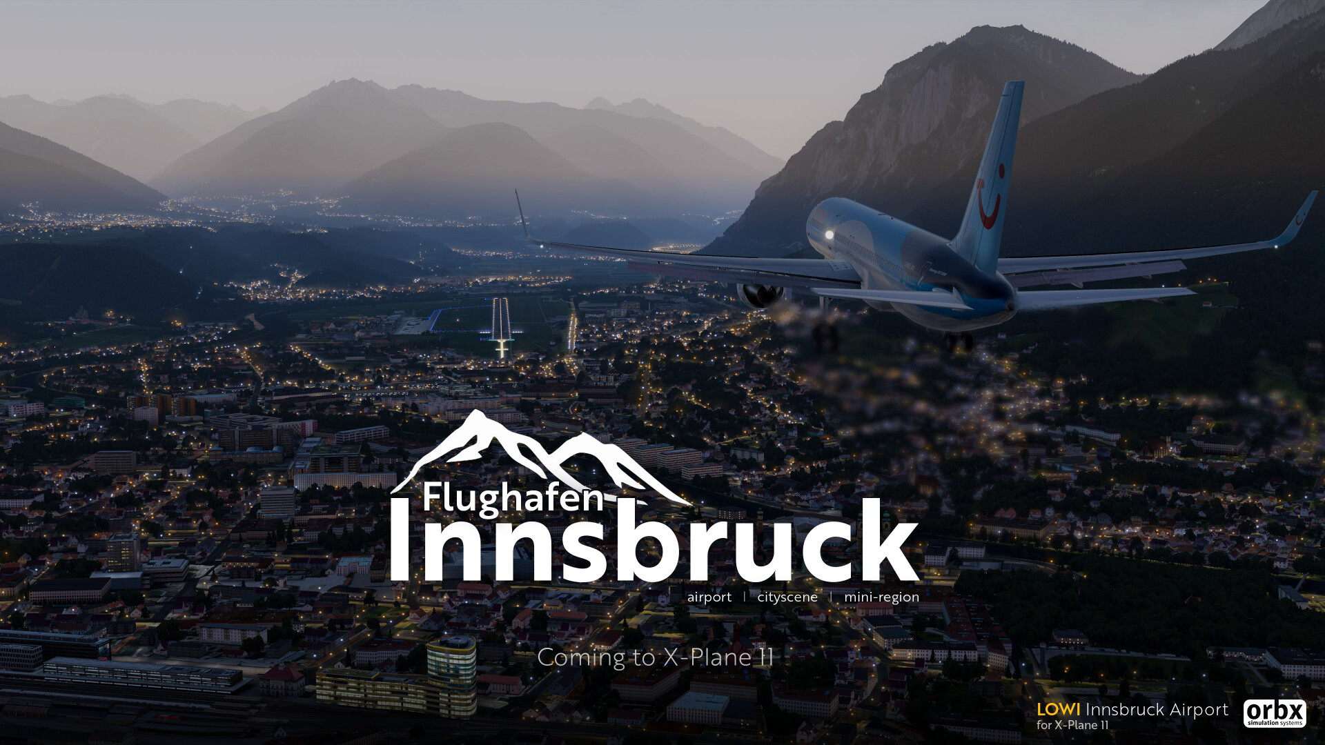 announcement] Introducing LOWI Innsbruck Airport for X-Plane