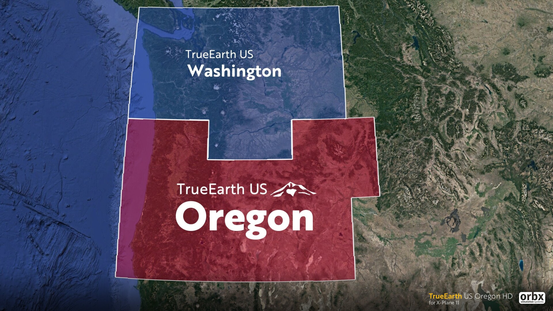 TrueEarth US Oregon: The Beaver State comes to life! - Preview